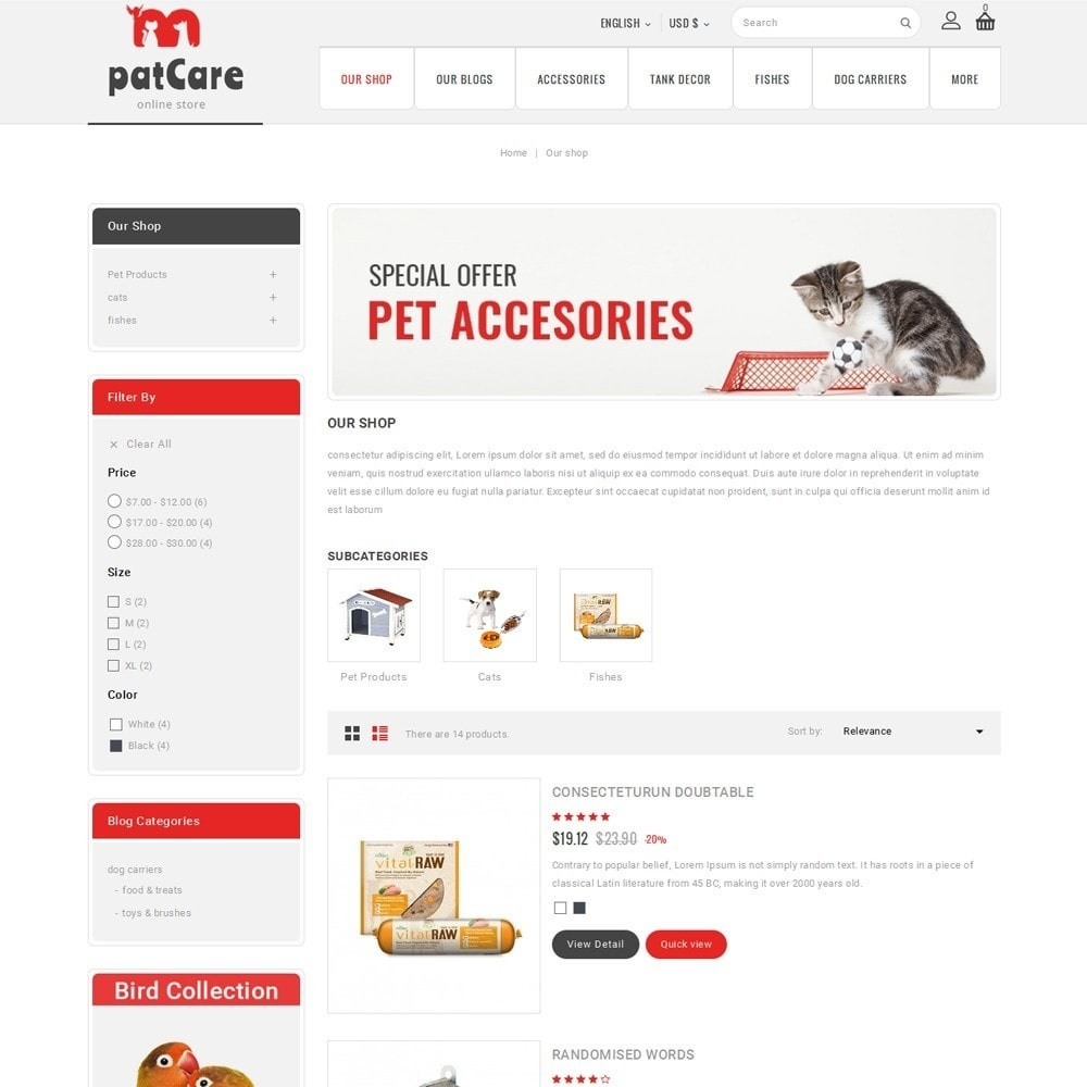 theme - Animaux - Patcare - The Animal Store - 5