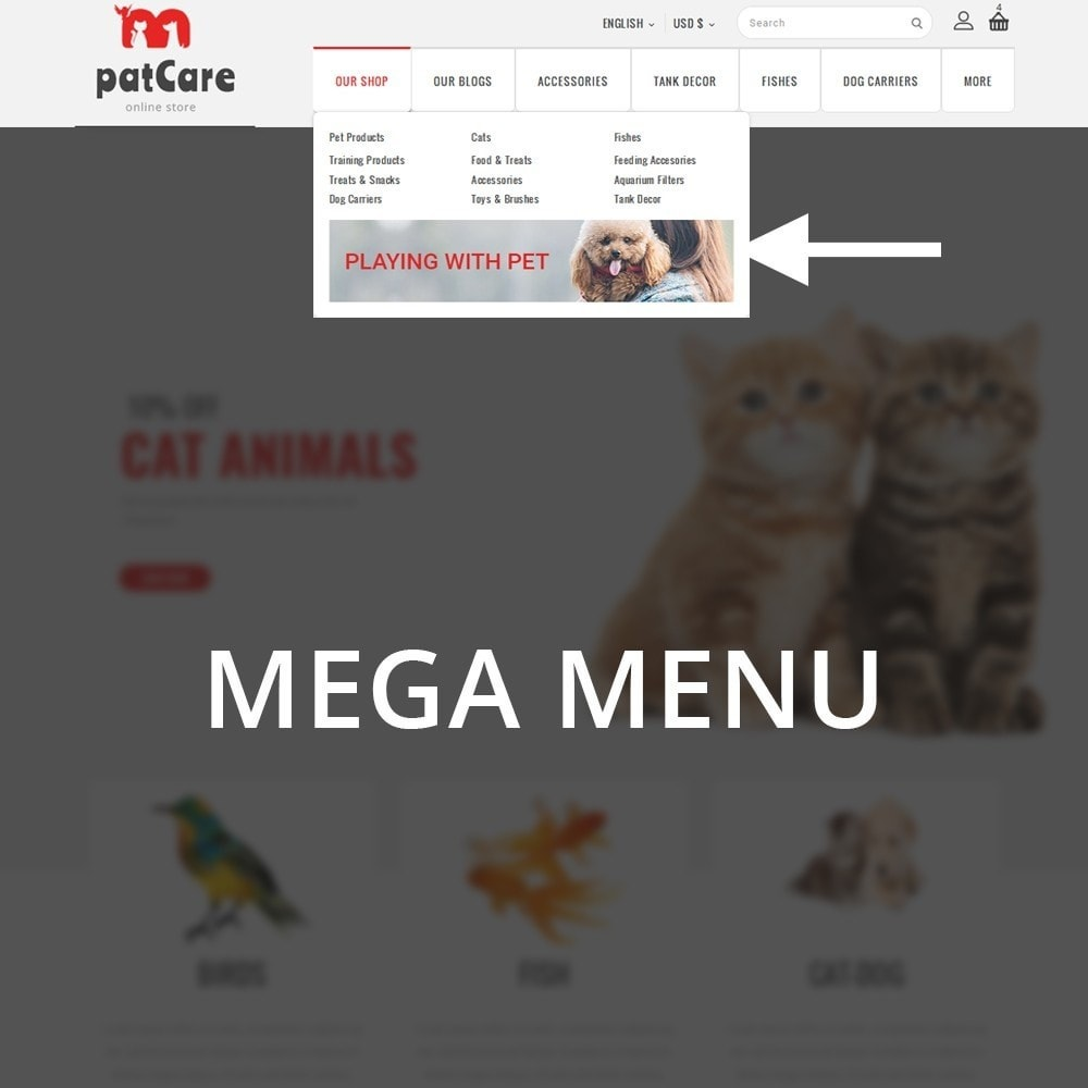 theme - Animaux - Patcare - The Animal Store - 9