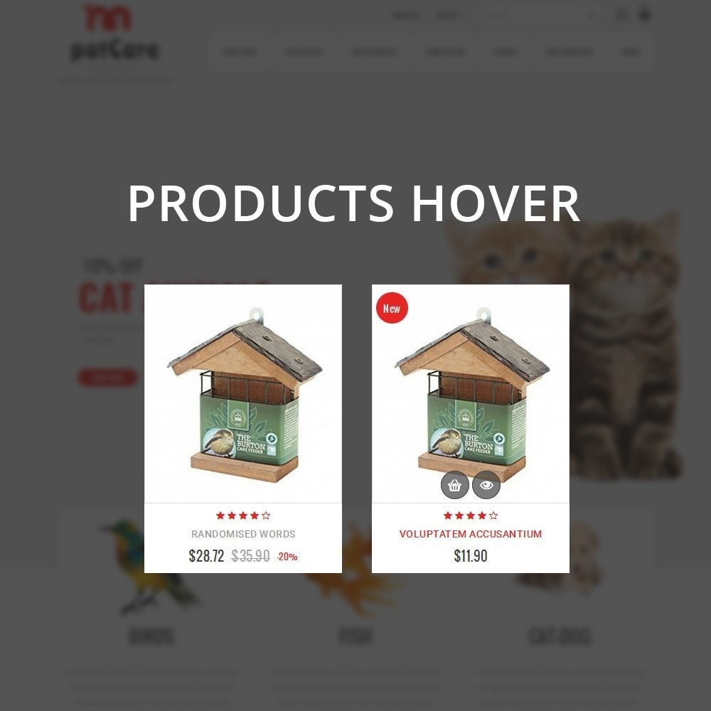 theme - Animaux - Patcare - The Animal Store - 11