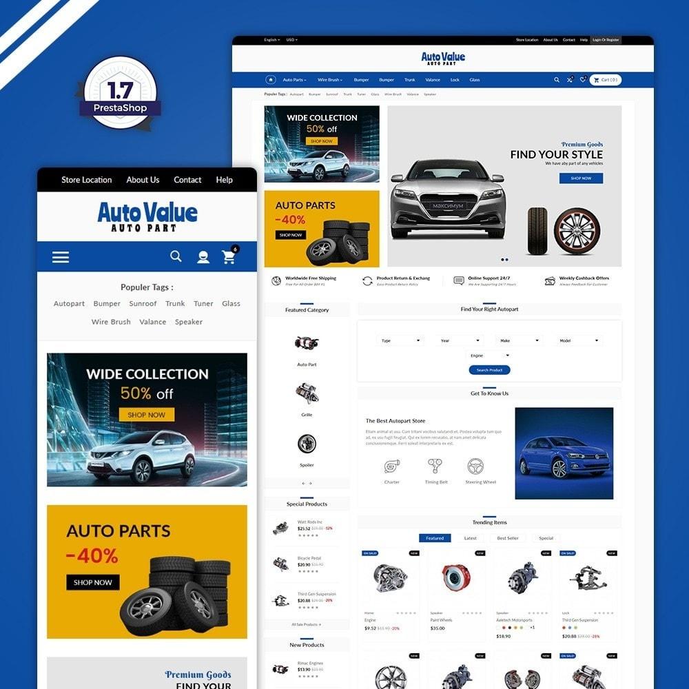 theme - Automotive & Cars - Auto Part –Tools Mega Shop - 1