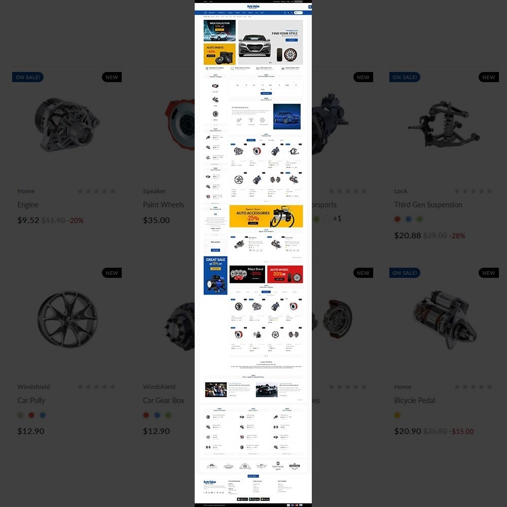 theme - Automotive & Cars - Auto Part –Tools Mega Shop - 2