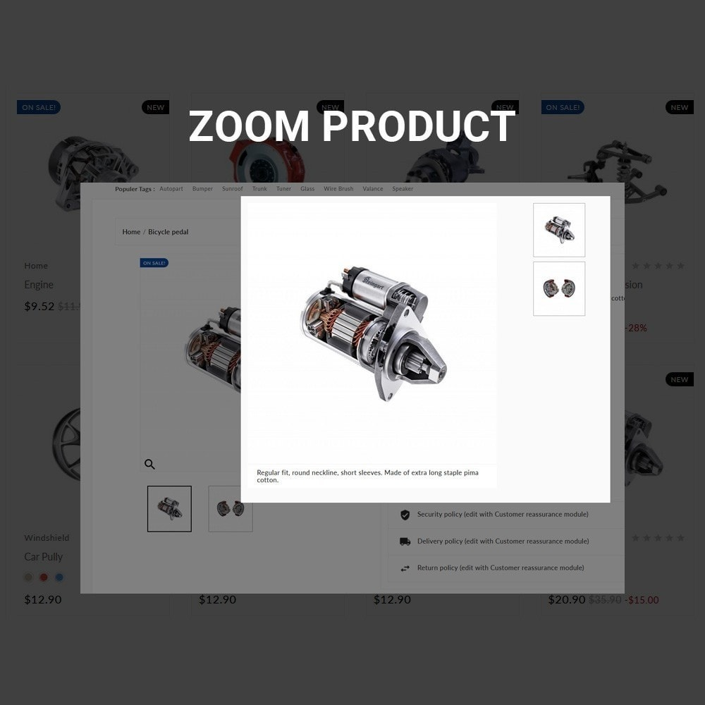 theme - Automotive & Cars - Auto Part –Tools Mega Shop - 6