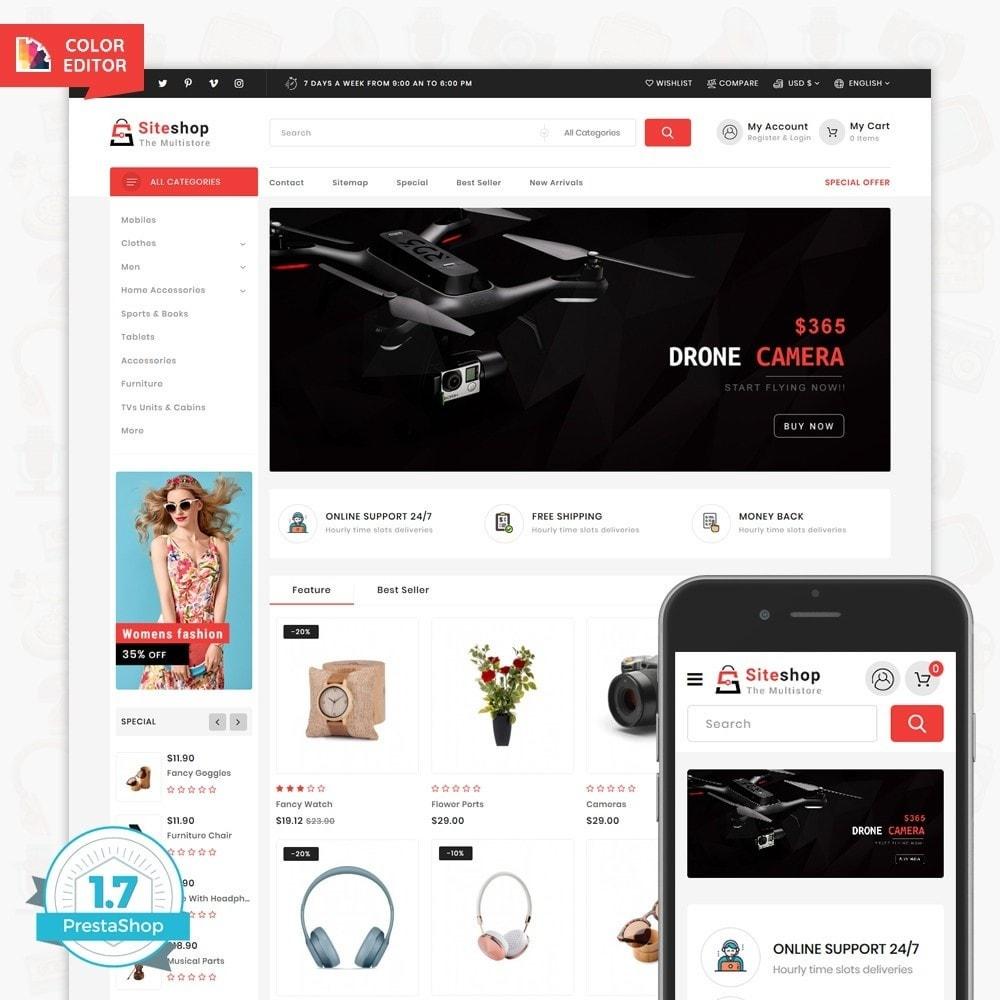 theme - Eletrônicos & High Tech - SiteShop - Online Shopping Trade - 1