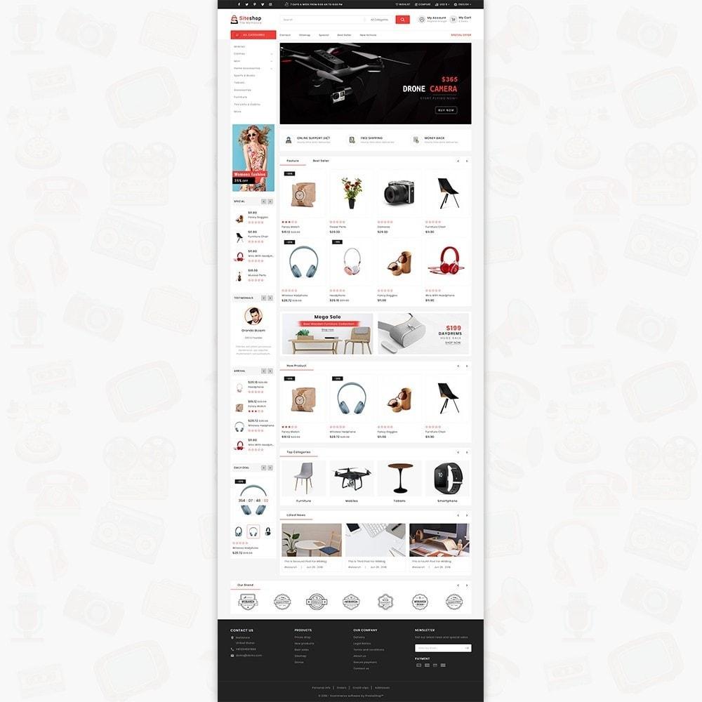 theme - Eletrônicos & High Tech - SiteShop - Online Shopping Trade - 2
