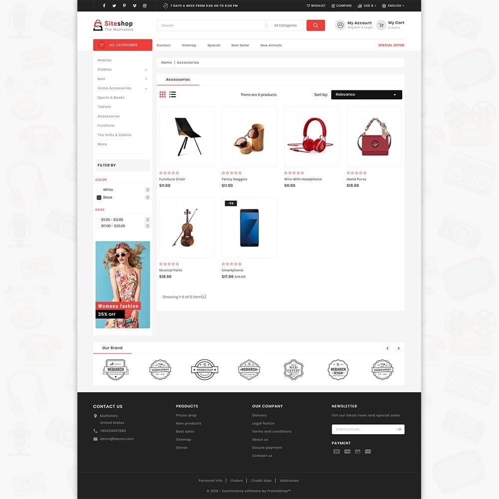 theme - Eletrônicos & High Tech - SiteShop - Online Shopping Trade - 3