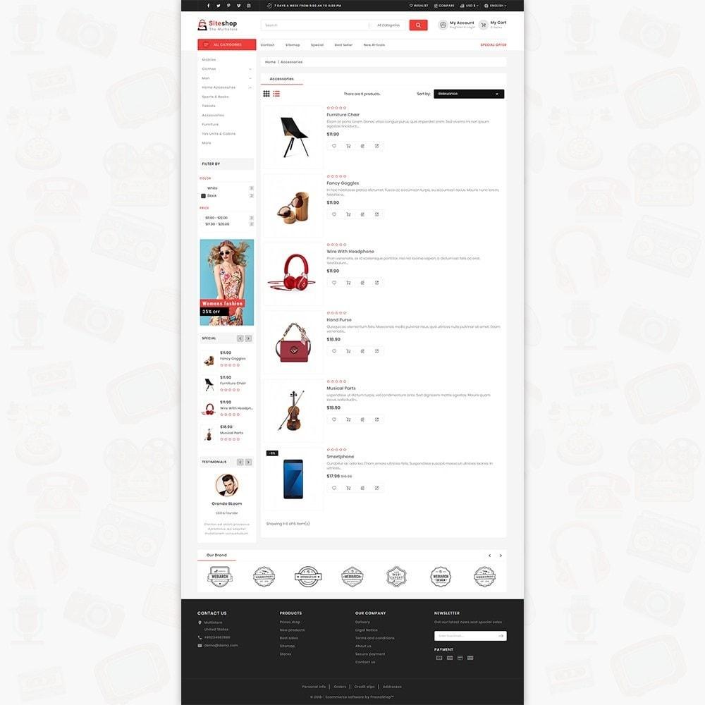 theme - Eletrônicos & High Tech - SiteShop - Online Shopping Trade - 4