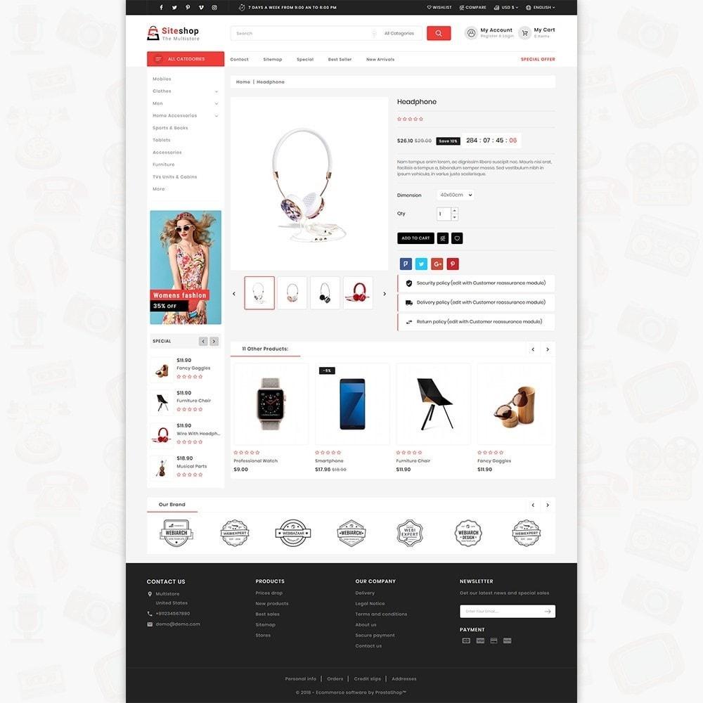 theme - Eletrônicos & High Tech - SiteShop - Online Shopping Trade - 5