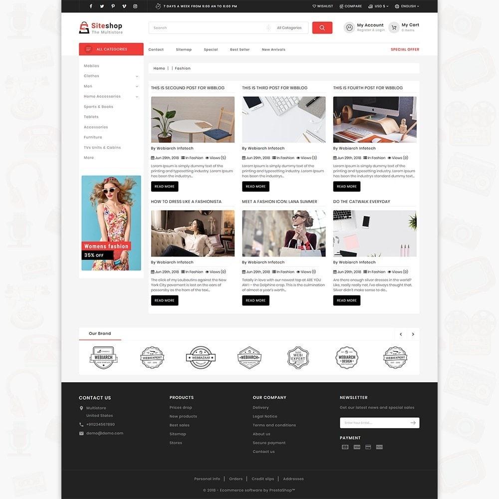theme - Eletrônicos & High Tech - SiteShop - Online Shopping Trade - 6