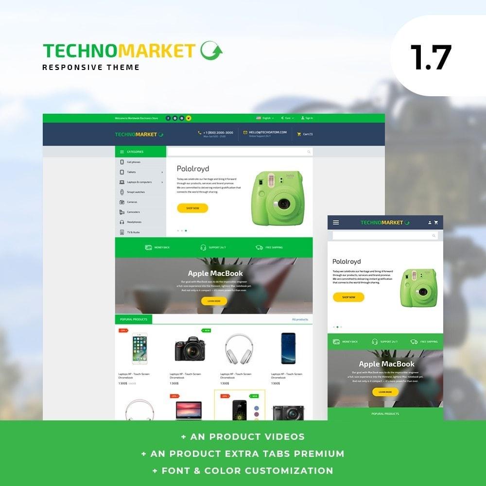 theme - Electronique & High Tech - Technomarket - High-tech Shop - 1