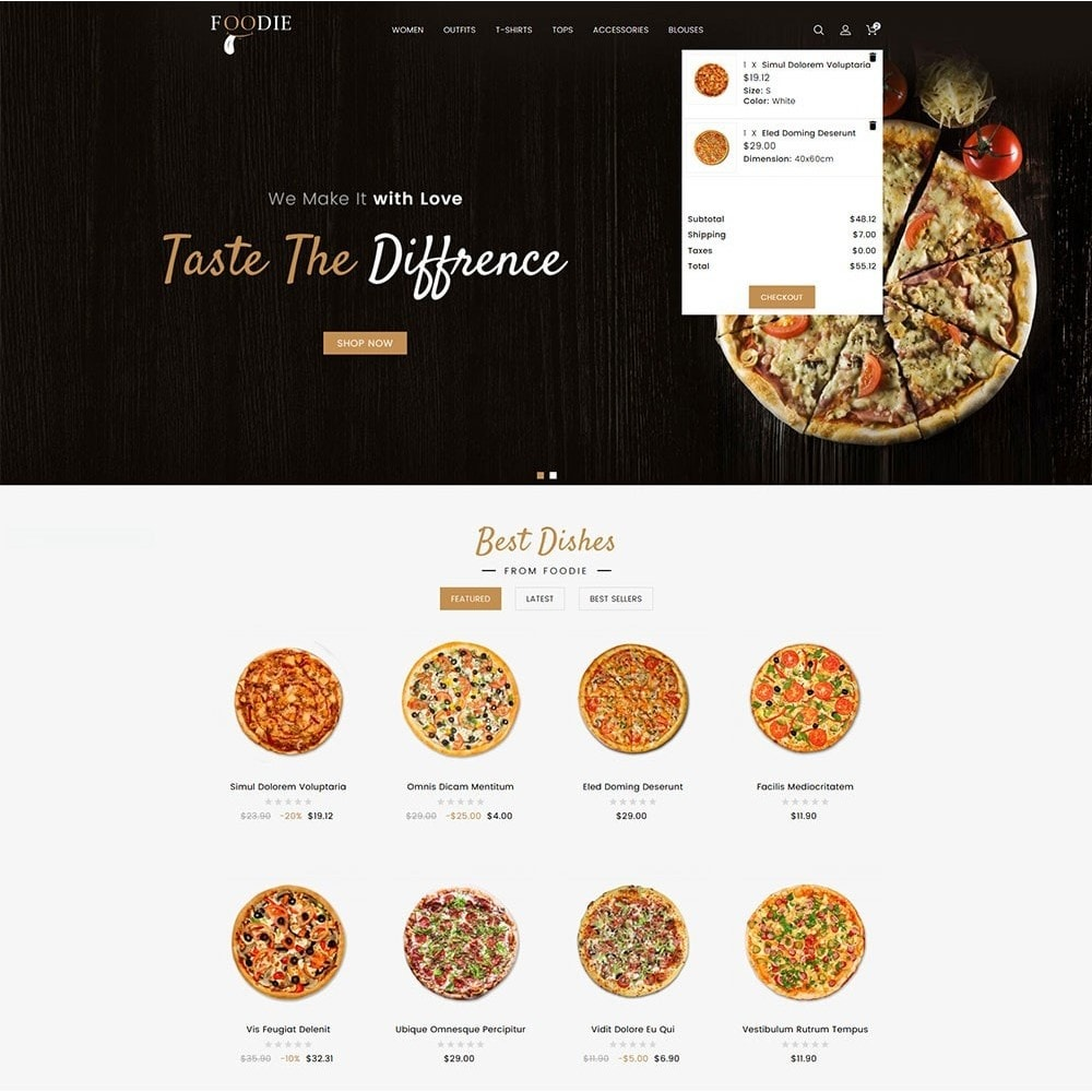 theme - Alimentation & Restauration - Foodie Food Store - 3