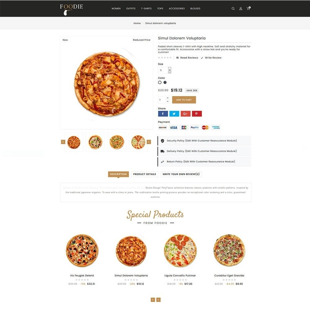 theme - Alimentation & Restauration - Foodie Food Store - 4