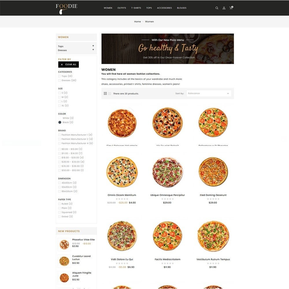 theme - Alimentation & Restauration - Foodie Food Store - 5