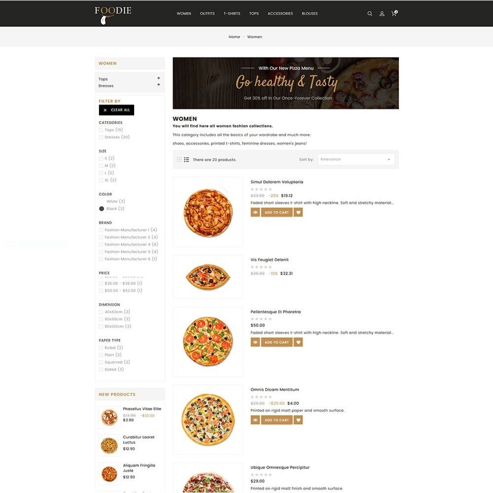 theme - Alimentation & Restauration - Foodie Food Store - 6