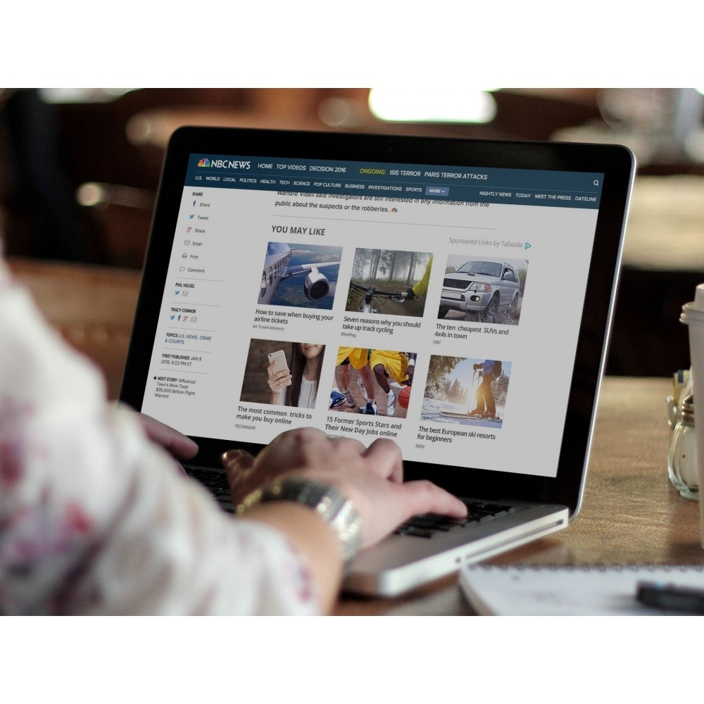 service - Publicité & Marketing - Taboola Native Advertising & Content Discovery Platform - 7