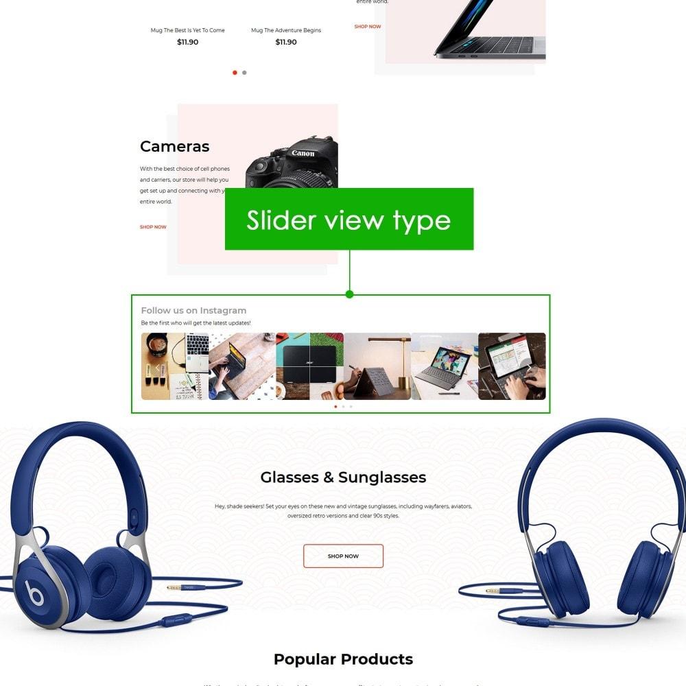 module - Sliders y Galerías de imágenes - AN Social Feed Slider - 4