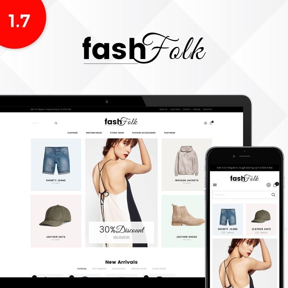 theme - Fashion & Shoes - Fash Folk store - 1