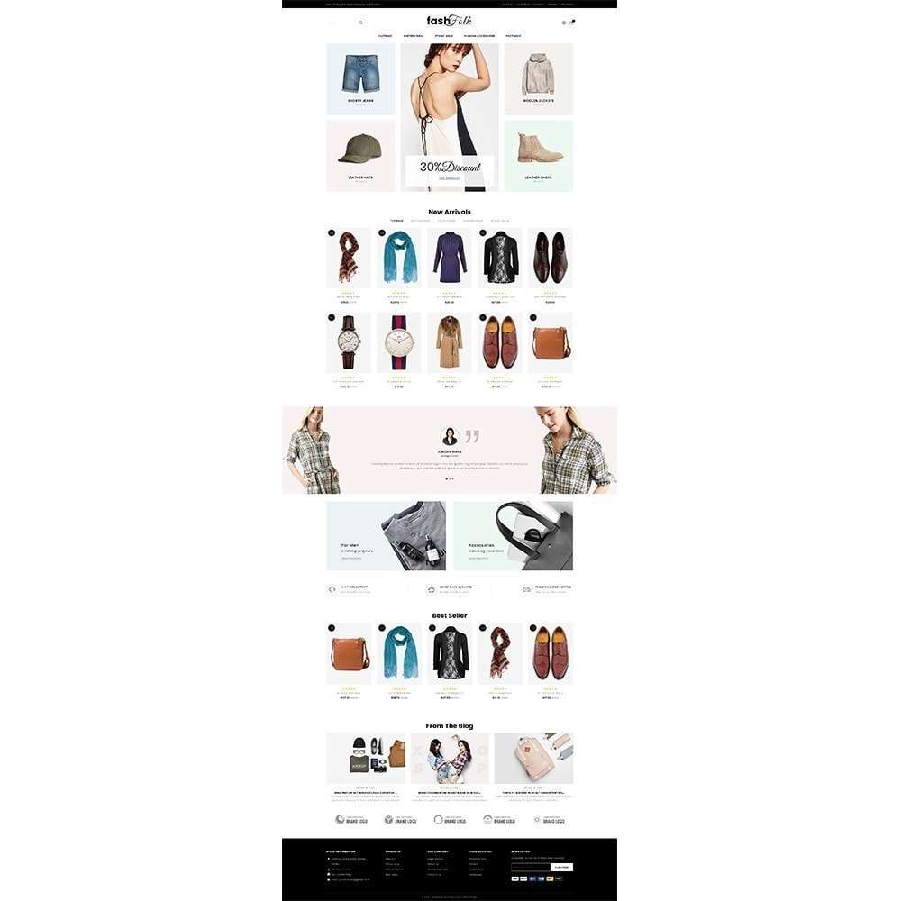 theme - Mode & Chaussures - Fash Folk store - 2