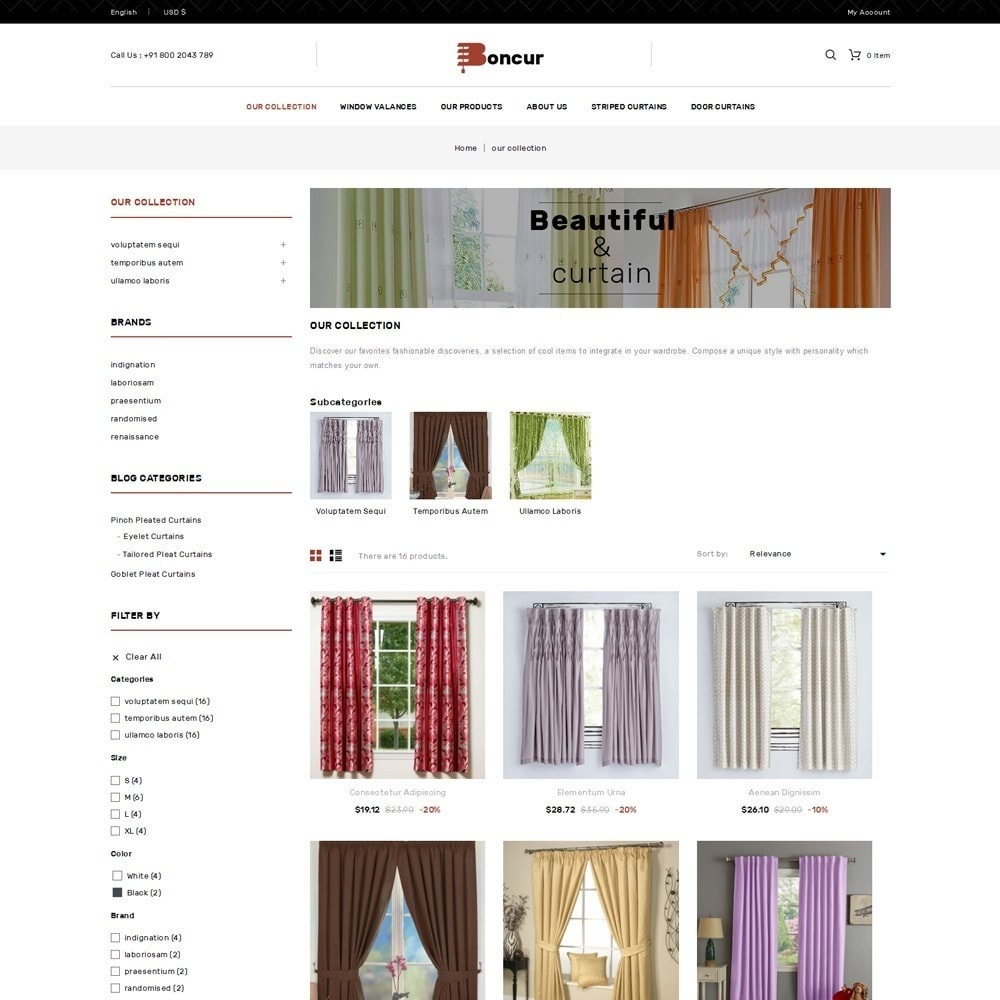 theme - Casa & Jardins - Boncur - The Curtain Shop - 4