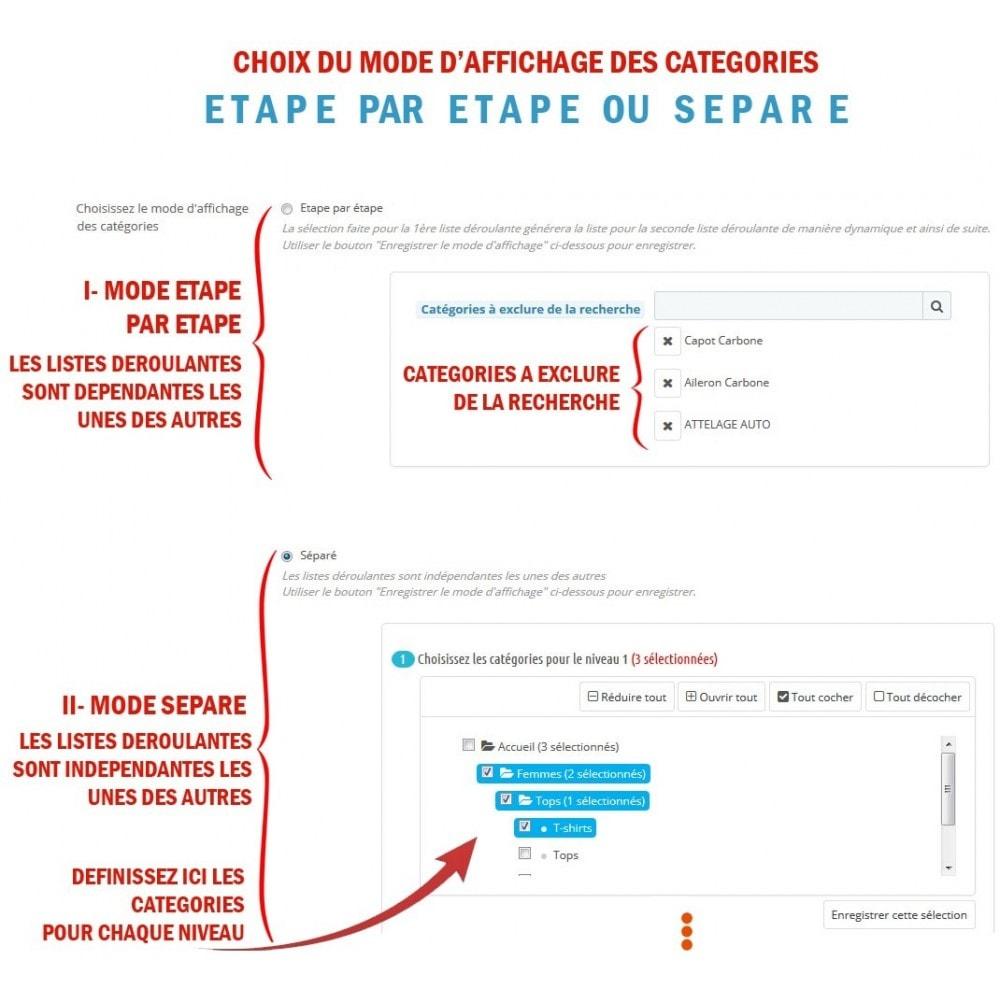 module - Recherche & Filtres - WK Recherche Avancée par Catégories - 3