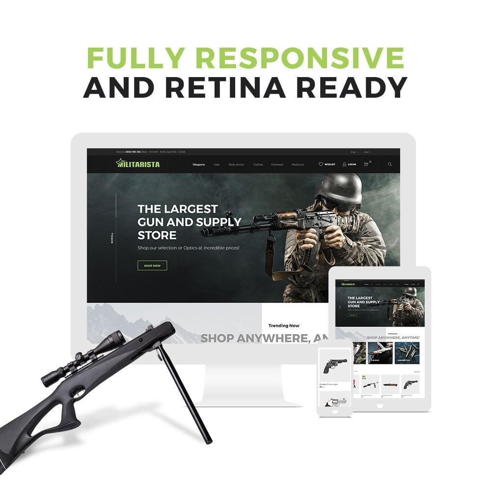 theme - Sport, Aktivitäten & Reise - Militarista - Weapons Store - 2