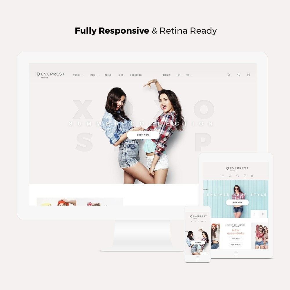 theme - Moda y Calzado - Eveprest - Fashion Store - 3