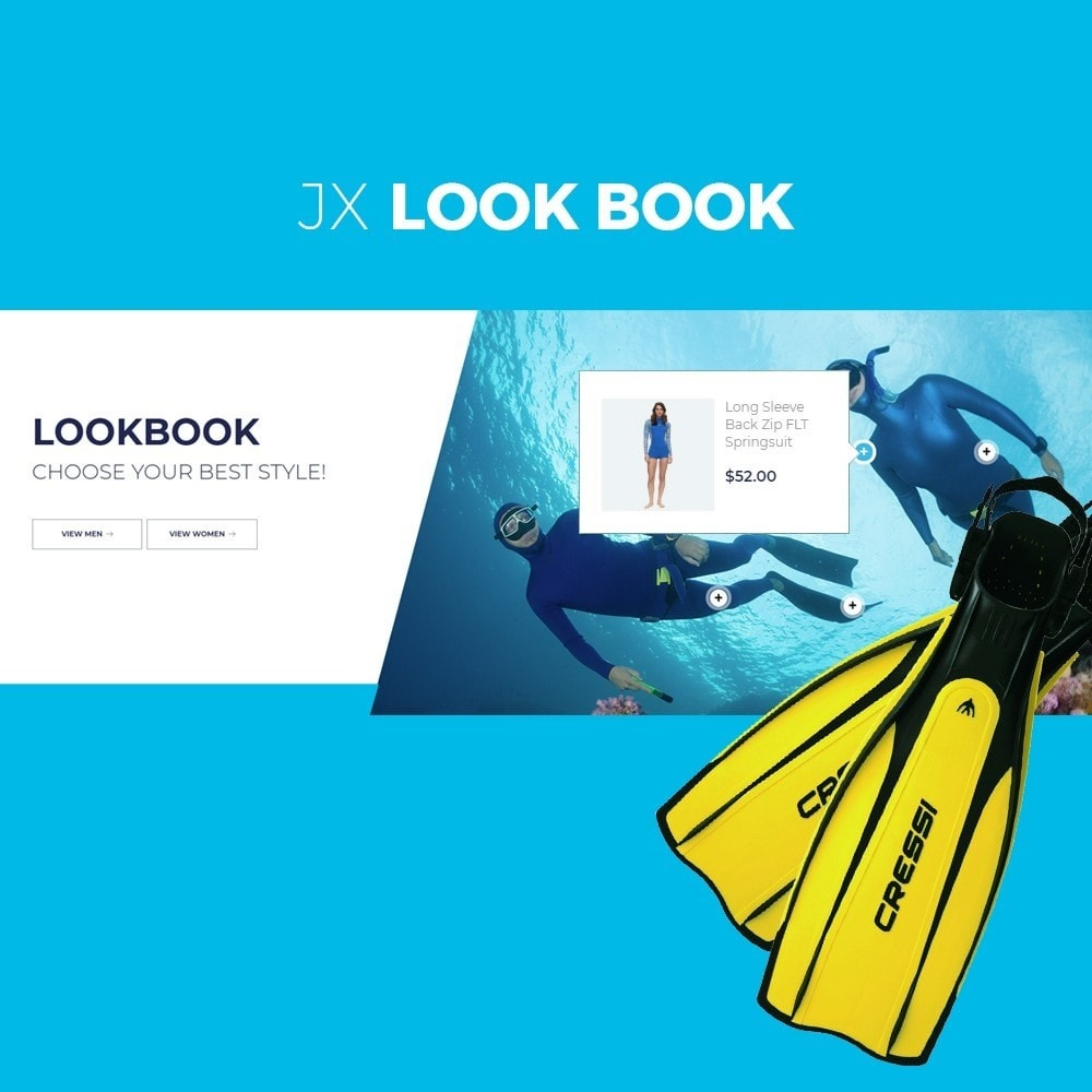 theme - Sport, Loisirs & Voyage - Watersports - Diving Store - 5