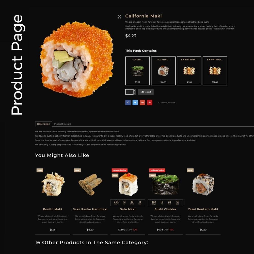 theme - Food & Restaurant - SushiExpress - Restaurant Store - 5