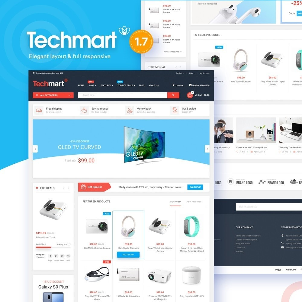 theme - Electronics & Computers - Techmart - High-tech Store - 1
