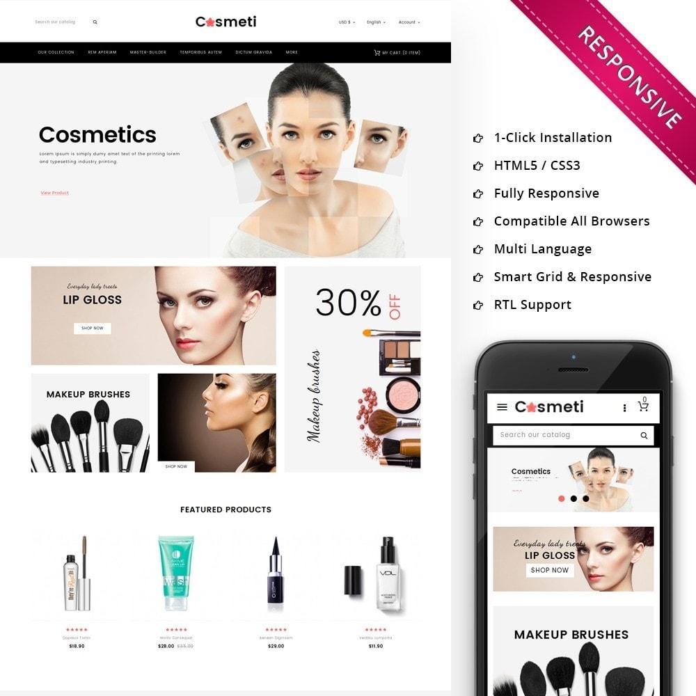theme - Moda & Calçados - Cosmeti - The Beauty Shop - 1