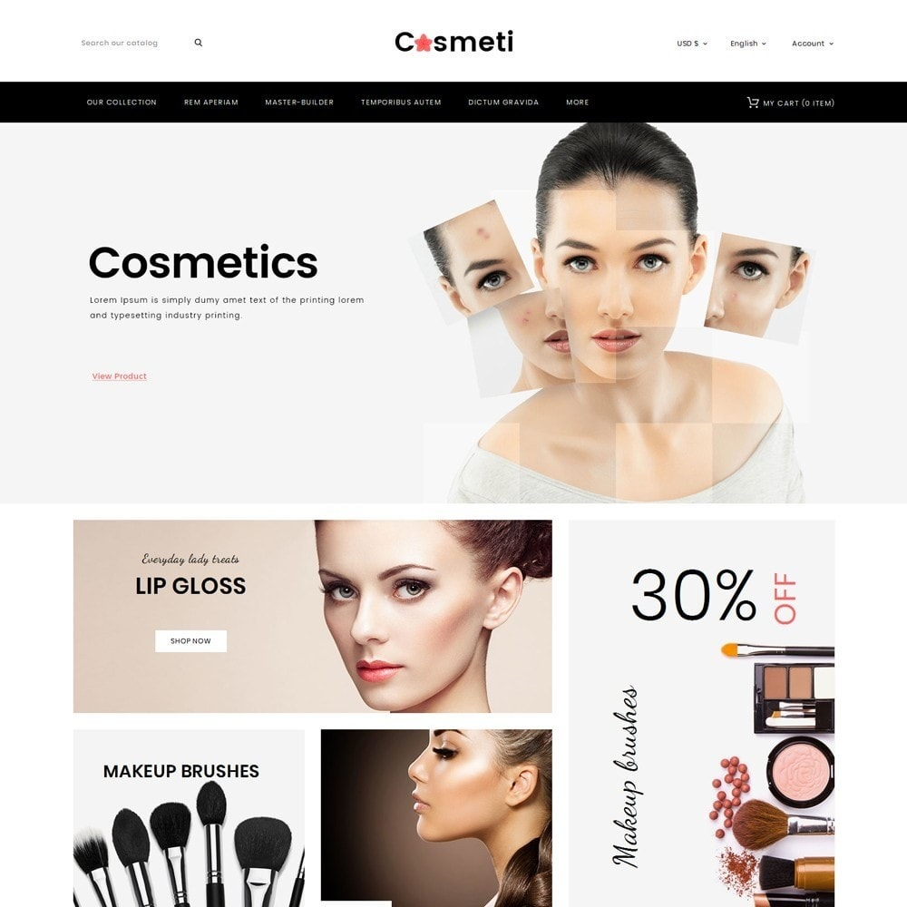 theme - Moda & Calçados - Cosmeti - The Beauty Shop - 2