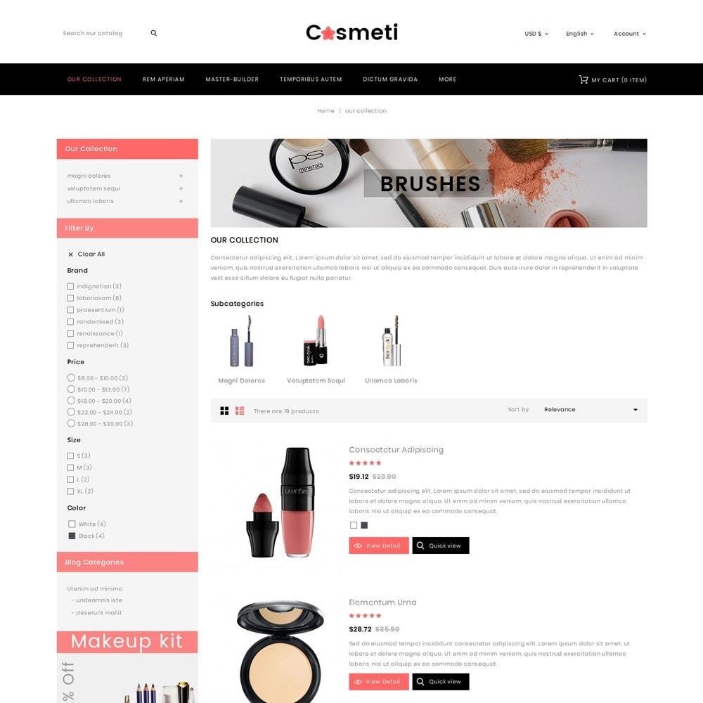theme - Moda & Calçados - Cosmeti - The Beauty Shop - 5