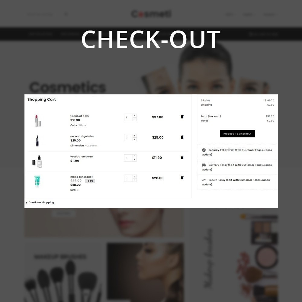 theme - Moda & Calçados - Cosmeti - The Beauty Shop - 12
