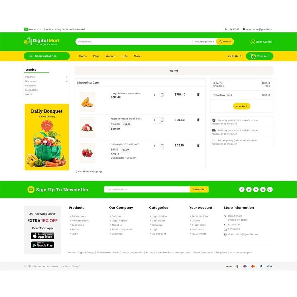 theme - Alimentation & Restauration - Digital Mart Grocery Food - 7