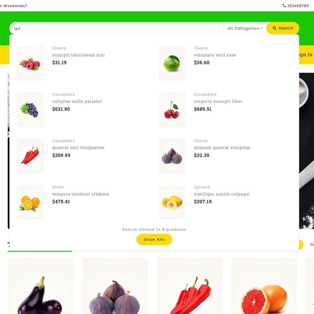 theme - Alimentation & Restauration - Digital Mart Grocery Food - 11
