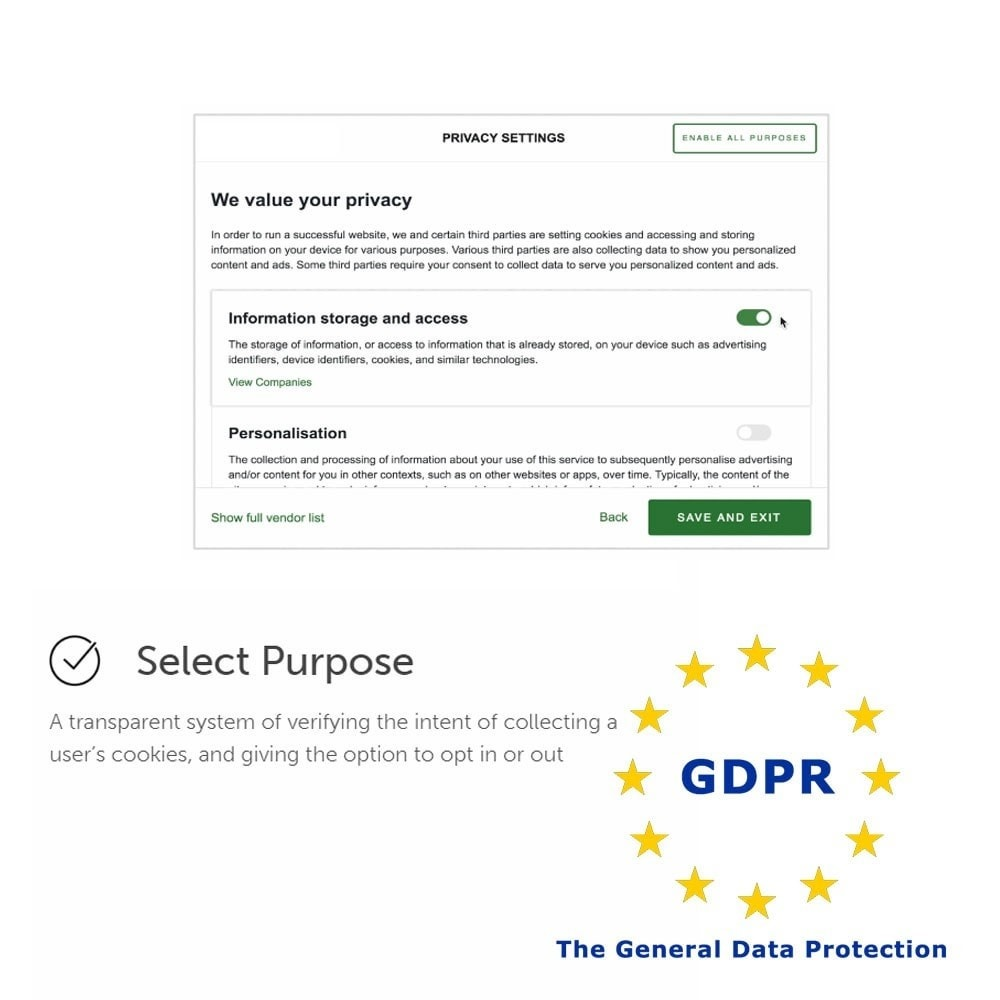 module - Législation - General Data Protection Regulation (GDPR) Compliance - 3