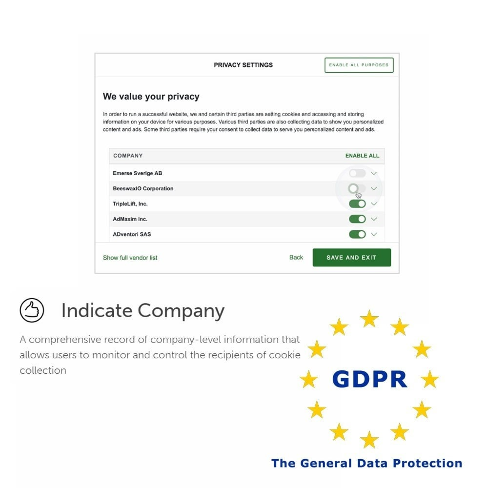 module - Législation - General Data Protection Regulation (GDPR) Compliance - 4