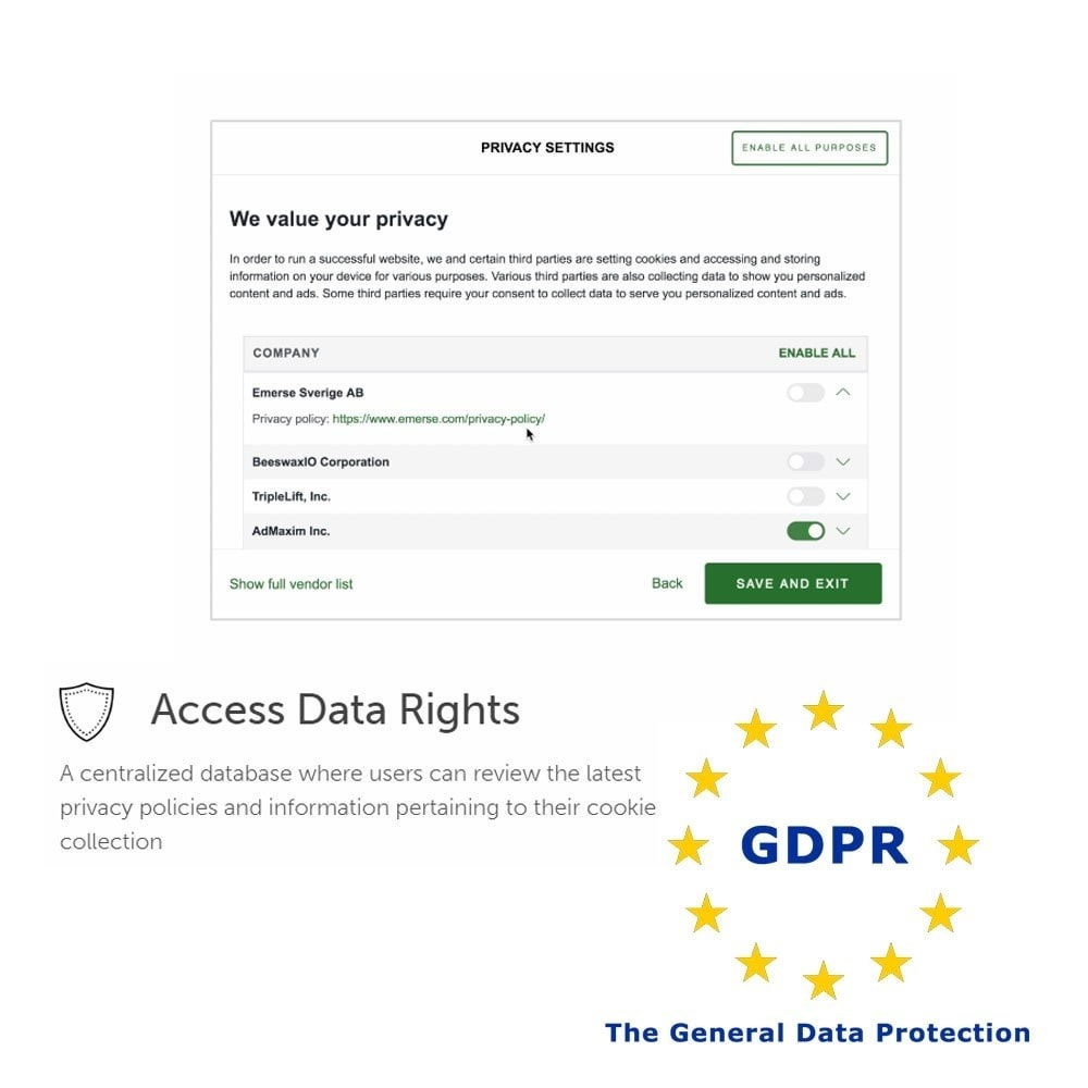 module - Législation - General Data Protection Regulation (GDPR) Compliance - 5