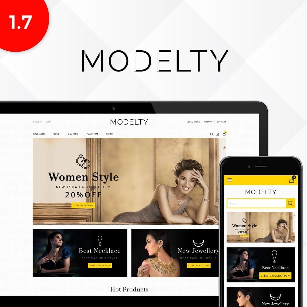 theme - Bijoux & Accessoires - Modelty Jewellery Store - 1