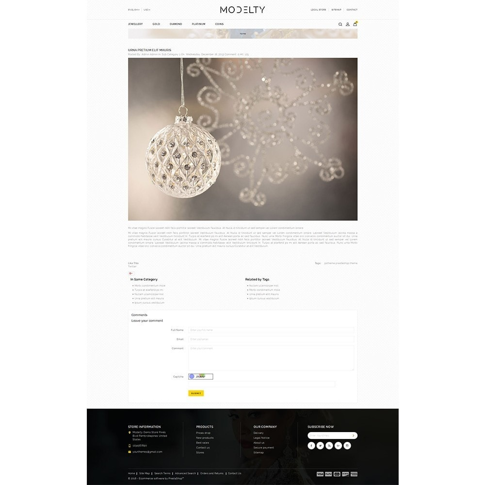 theme - Bijoux & Accessoires - Modelty Jewellery Store - 7