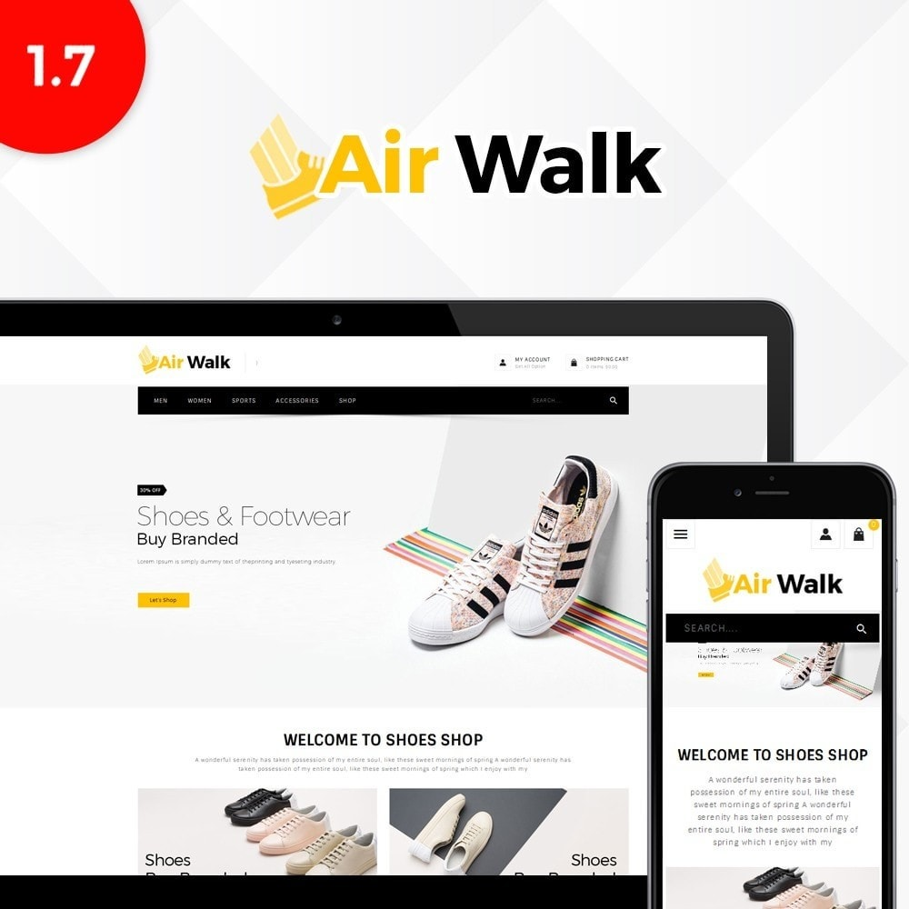 theme - Mode & Chaussures - Air-walk Store - 1
