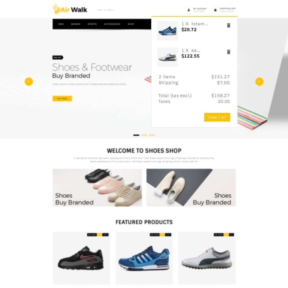 theme - Mode & Chaussures - Air-walk Store - 7