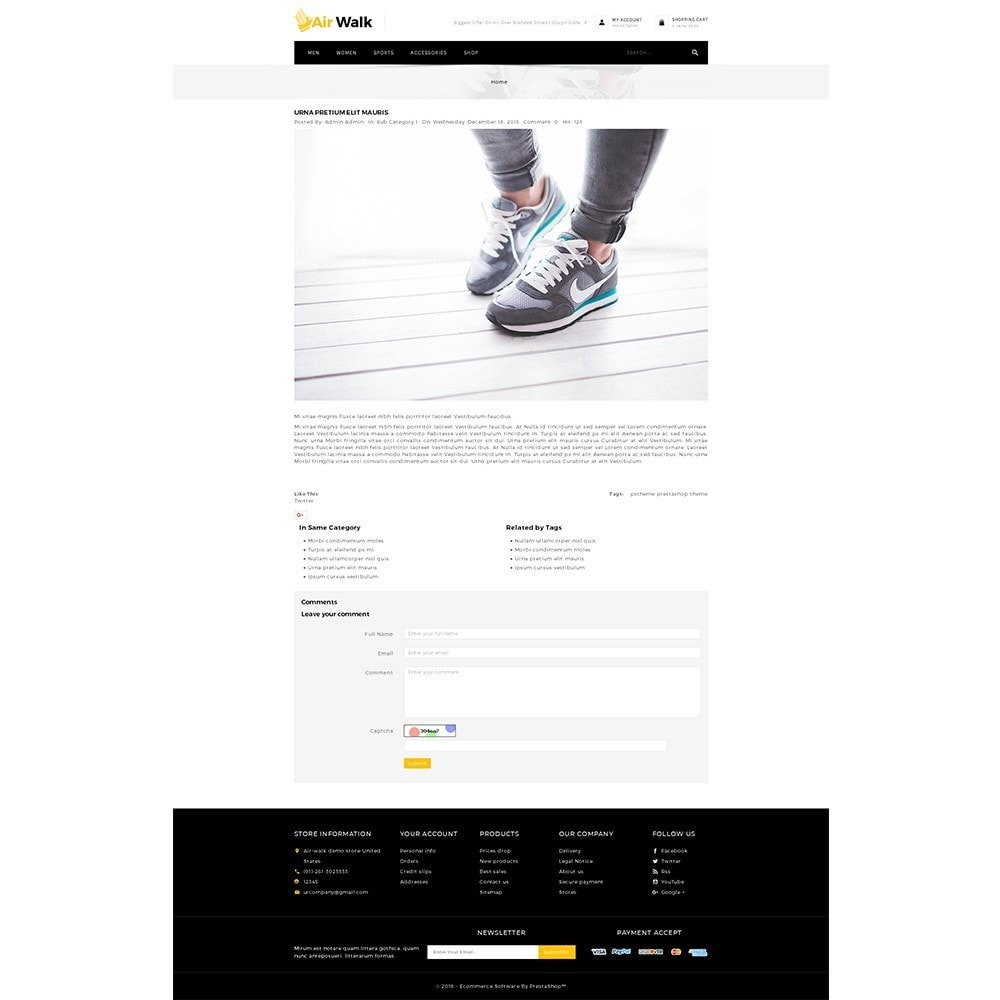 theme - Mode & Chaussures - Air-walk Store - 8