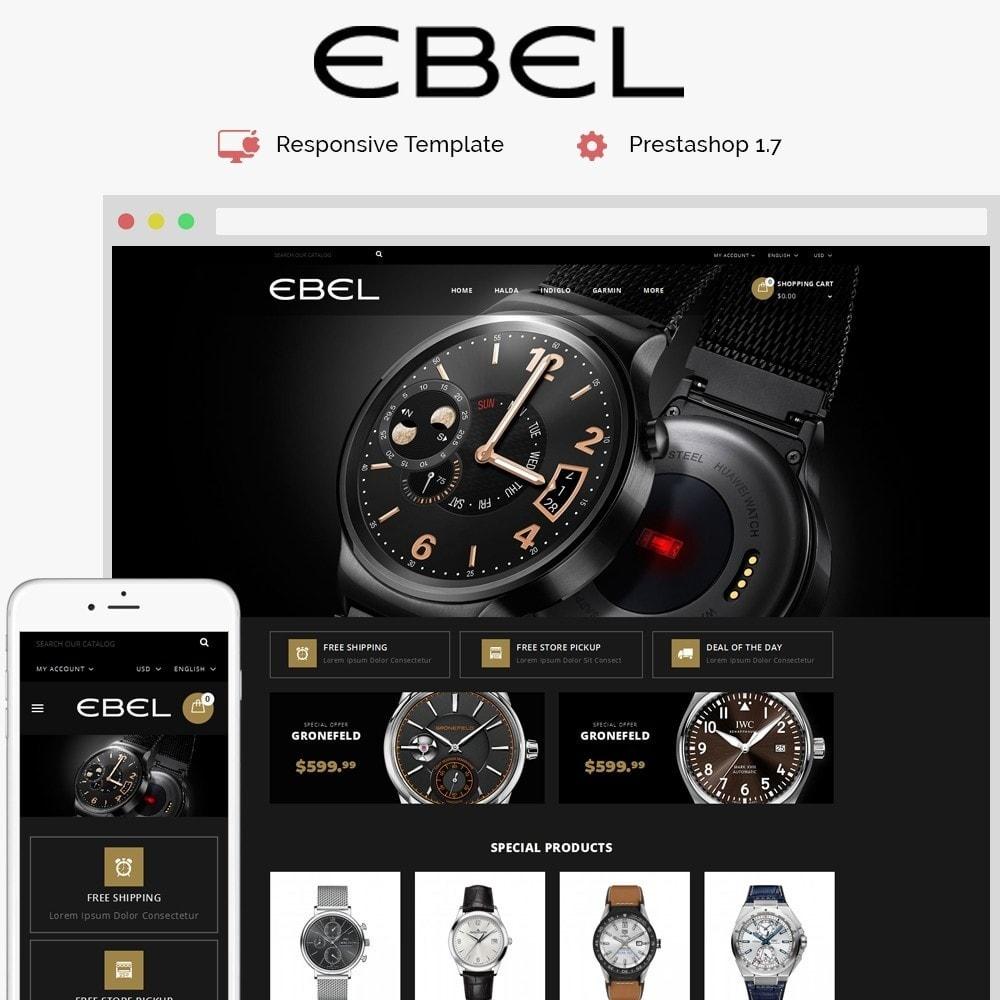 theme - Fashion & Shoes - Ebel Watch Store - 1
