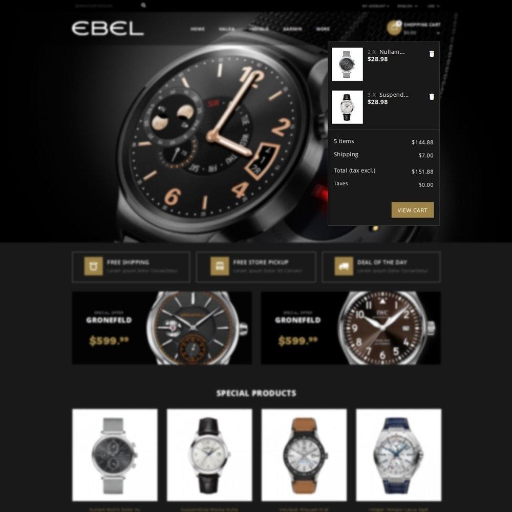 theme - Moda & Calçados - Ebel Watch Store - 8