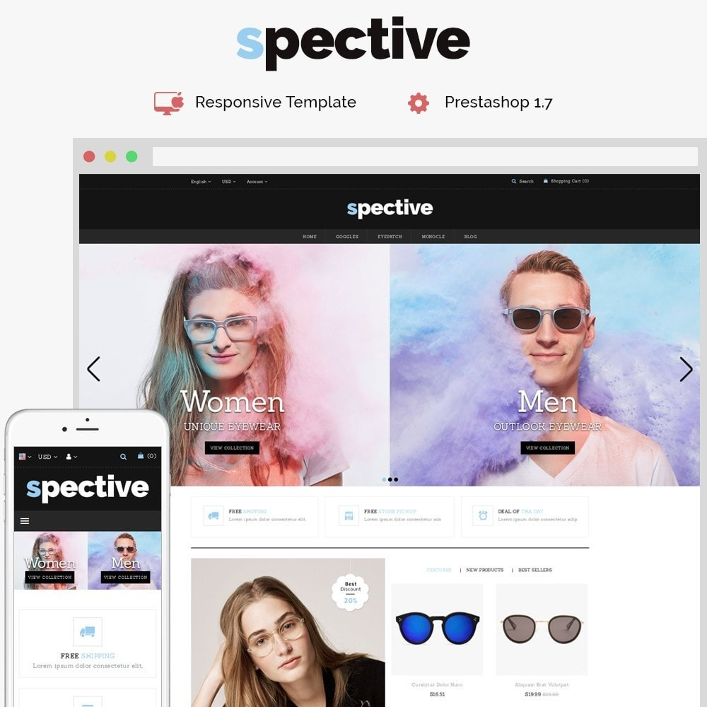 theme - Mode & Chaussures - Spective Demo Store - 1
