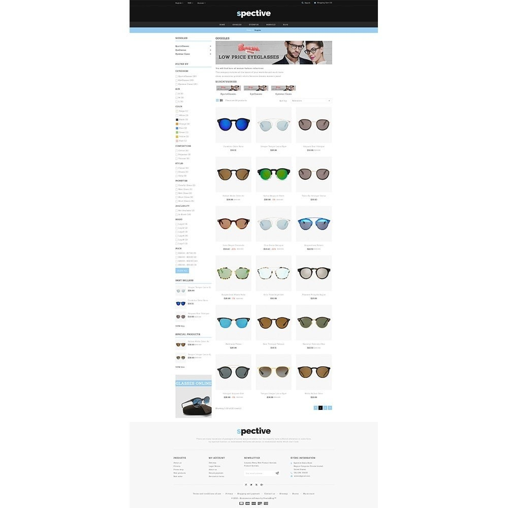 theme - Mode & Chaussures - Spective Demo Store - 3
