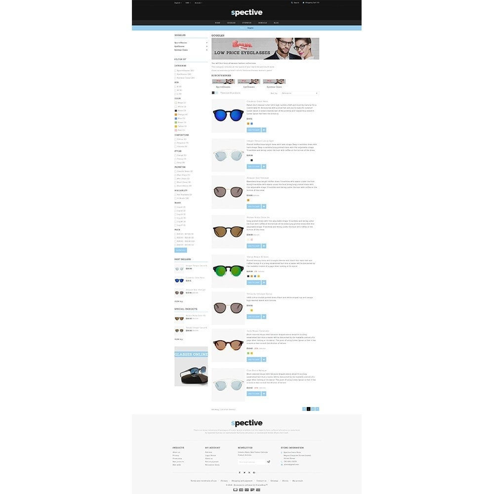 theme - Mode & Chaussures - Spective Demo Store - 4