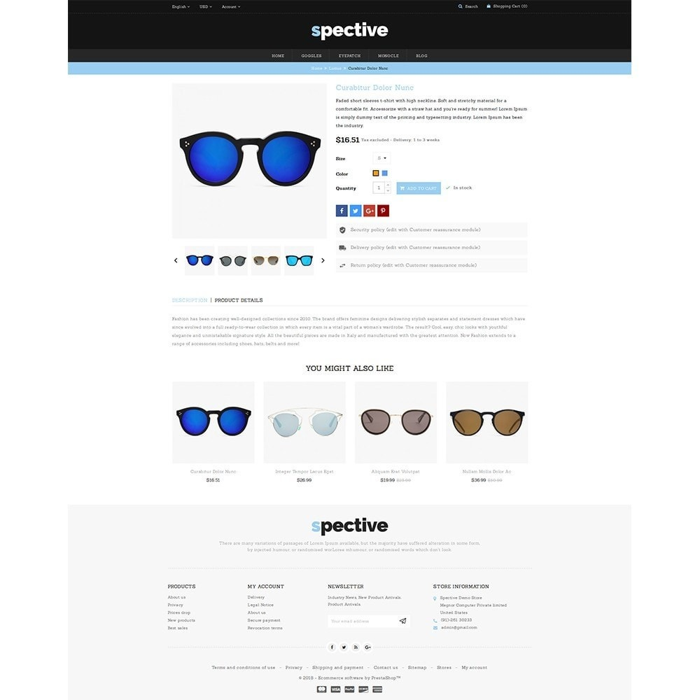 theme - Mode & Chaussures - Spective Demo Store - 5