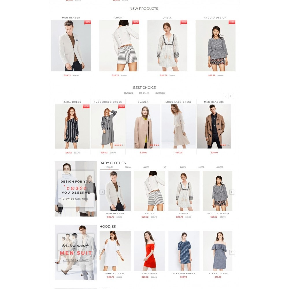 theme - Mode & Chaussures - Bersace Fashion Theme - 3