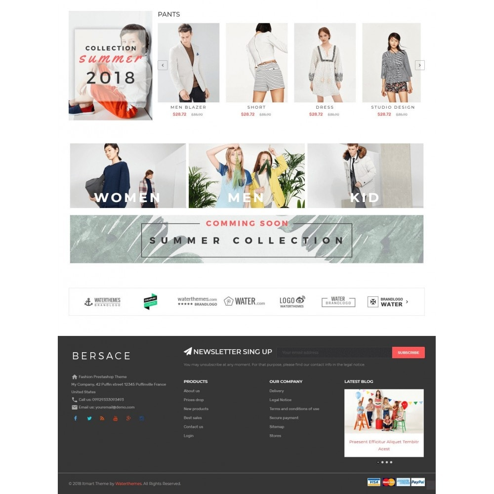 theme - Mode & Chaussures - Bersace Fashion Theme - 4